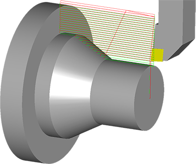 CAD / CAM Bubut Software OneCNC